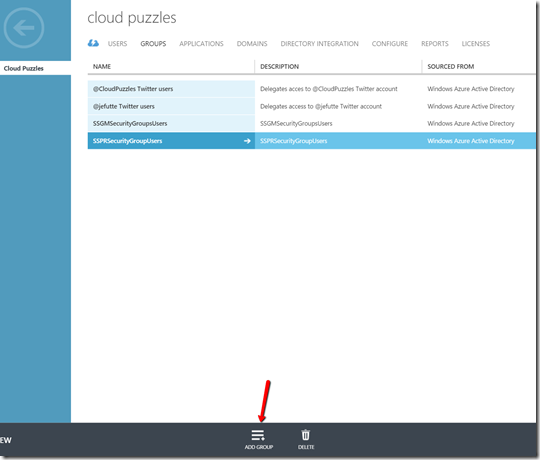 Azure AD Domain Services - Admin Group