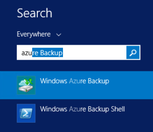 Search Backup Agent
