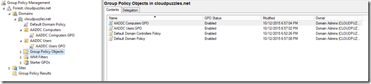 Azure AD Domain Services - Group Policy