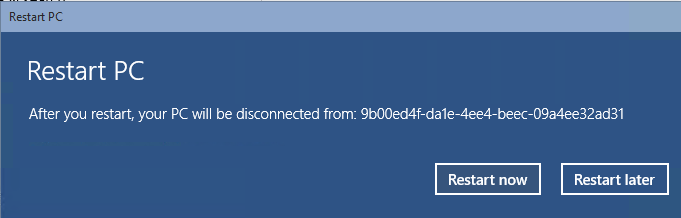 disconnectaad4