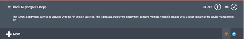 Resize Azure VM Classic